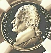 1995-s-jefferson Nickel Ngc Pf69 Ultra Cameo Beautiful Coin/presidential Slab