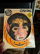 Ben Cooper Wolfman Rare Univeral Monsters Licensed 1960s Costume. Amazing Shape