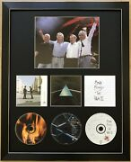 Pink Floyd/framed/cd/dark Side Of The Moon/the Wall/wish You Were Here