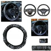Steering Wheel Cover 1 Pcs 100 Brand New Leather Elastic Breathability