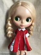 Vintage 1970and039s Kenner Blythe Doll Blonde Braid Hair Beautiful Rare 7 Line
