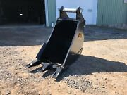 24 Excavator Bucket - 160cl Fits Cat 315/316 Komatsu Pc160/170 And Others