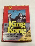 King Kong Movie Photo Cards With Gum Box New