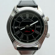 Mercedes Benz Classic Car Accessory Made In Germany Art Deco Alarm Retro Watch