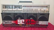 Sharp Gf-777 Stereo Boombox - Serial 20430339 - With Video On Youtube