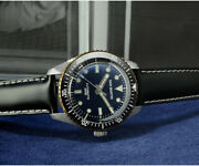 Automatic Mechanical Men Watch In Stainless Steel And Sapphire San Martin Black