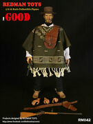 1/6 Redman Toys Rm042 Cowboy The Good Head And Suit Set 12and039and039 Action Figure Model
