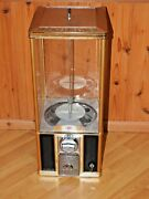 Northern Beaver Black And Gold Gumball Vending Machine 850 Count