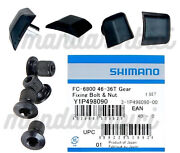 Shimano Ultegra 6800 Chainring Fixing Bolts And Nut Set Of 4 Nib Y1p498090