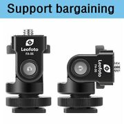 Second Hand Leofoto Fa-06 Hot Shoe Adapter With Friction Control For Camera