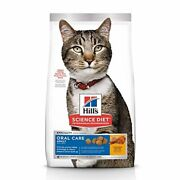 Hilland039s Science Diet Dry Cat Food Adult Oral Care Chicken Recipe