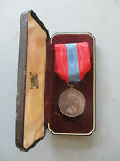Imperial Service Medal Qeii George Albert Mansfield Iron Caulker Portsmouth