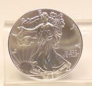 2013 Us Mint American Silver Eagle 1oz Bullion Round Coin Unc - Free Shipping