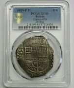 1629 Potosi 8 Real Cob Pcgs Xf45 Philip Iv Spanish Silver Spain Coin Colonial