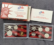 2006-s 90 Silver Proof Set United States Mint Original Government Packaging Box