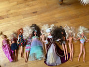 Barbie Vintage Toy Lot Of 10 Dolls Rare And Collectible Doll