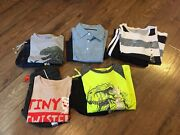 Nwt Toddler Boys Size 4t Summer Clothing Lot Shirts / Shorts Outfitslot Of 10