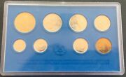 Ddr 1981 Proof Coin Mint Set 8 Coins Kms East Germany German Very Rare