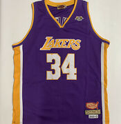 Vintage Nba Shaquille O'neal Shaq Lakers Jersey Von Dutch Limited Edition 2004