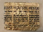 World War 2 Nescafe Coffee Product For Canteen Packets
