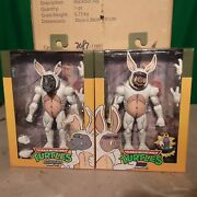 Neca Tmnt Loot Crate Bunny Suit Bebop And Rocksteady Split Nose Ring
