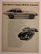 1966 Jaguar Xke And Roadster Ad - Must See