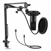 Fifine Usb Microphone Condenser Microphone Single Directional Microphone Stand