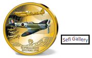 United Kingdom Of Great Britain 2019 History Of Aviation Supermarine Coin