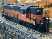 Ho Scale Proto 2000 Gp9 Dcc Ready Diesel Locomotive Milw Milwaukee Road Detailed