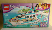 New And Retired 203 Lego Friends 41015 Dolphin Cruiser New In Factory Sealed Box