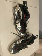 Nike Air Foamposite One Prm Fighter Jet Size 15 Camo Silver Sneakers Shoes
