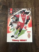 Image Cards Panini Rookie Thierry Henry Foot Cards 98 Rare Andeacutetat Neuf Nandbull104