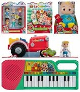 Cocomelon Bundle Jj Plush Doll Plush Book Tractor Keyboard Friends And Family