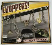 Mi Coin Op Toy Charm Chain Prizes Old Gumball Vending Machine Display Card