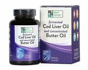 Green Pasture Blue Ice Royal Butter Oil Fermented Cod Liver Oil Blend - 120 Caps