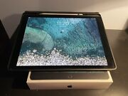 Ipad Pro Gray 12.9 2nd Gen 256gb W/cellular Bundle With Case And Apple Pencil