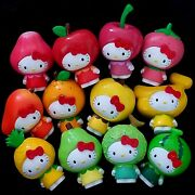 Hello Kitty Collectible Fruit Figures - Complete Set Of 12