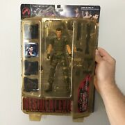 Resident Evil Chris Redfield Rare Camo Variant New Sealed 2001 Palisades