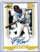 Ethan Long 2019 Leaf Perfect Game Blank Back Gold 1/1