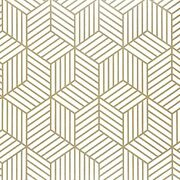 17.71 X118 Hexagons Geometry Wallpaper Peel And Paste Removable Wallpapers