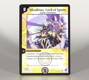 Duel Masters Dm-04 Alcadeias Lord Of Spirits 1/55 - Nm Holo Foil Unplayed