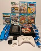 Nintendo Wii U Deluxe 32gb Console Wup-10102 Gamepad Controllers Games Read