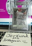 2012 Prizm Baseball Mike Trout 9 Mint Graded 1st Prizm Product