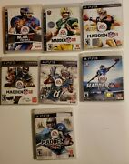 Madden Nfl 16 13 Playstation 3 Ps3 Ncaa Football 08 Fast Free Shipping Tested