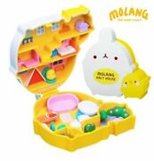 Molang The Happy Rabbit Bunny Pact Petit Figure House Role Play