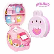 Molang The Happy Rabbit Bunny Pact Lovely Room Figure House Role Play