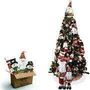 Fraser Hill Farm Canyon Pine Tree And Traditional Ornament Set