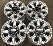 Ford F250 F350 Sd 8 Lug Painted Silver Factory Oem 18 Wheels Rims 10097 2621