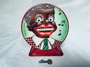 Chad Valley Saving Bank Tin Toy Blechspielzeug Wind-up Rare