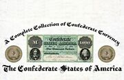 Book 5-1/2 X 8-1/2 Wire Bound Complete Collection Confederate Currency